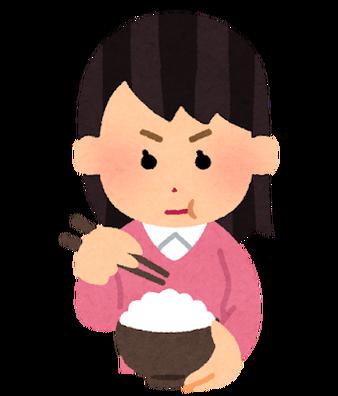 syokuji_shinken_woman