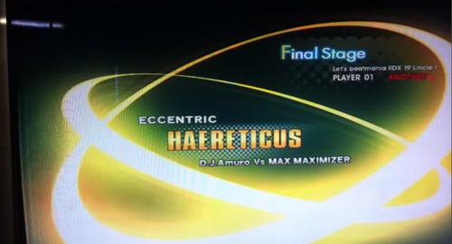 LincleLink隠し曲『HAERETICUS』IIDX版の動画がアップ