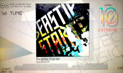 【jubeat】KAC2012最終課題曲『Beastie Starter / GUHROOVY』が登場! トータルノーツはAC最多の1000!