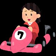 car_go_kart_woman