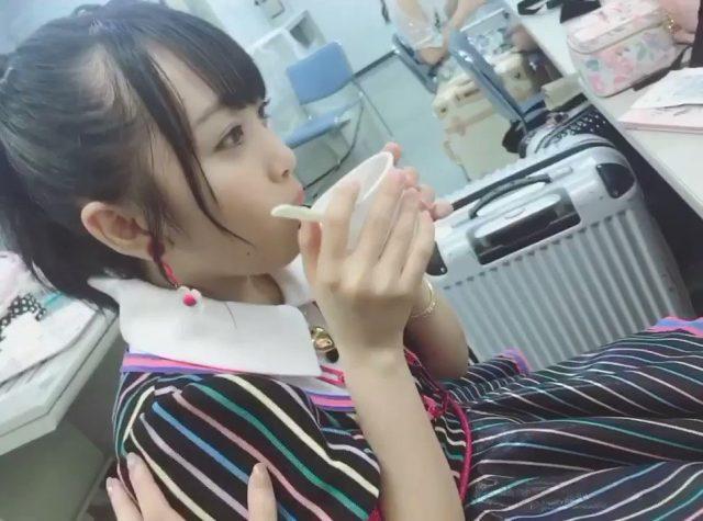 """【動画】AKB48谷川聖「""""もぐもぐみーおん""""さんならぬ""""ふーふーみーおん""""さんがおにかわです」"""