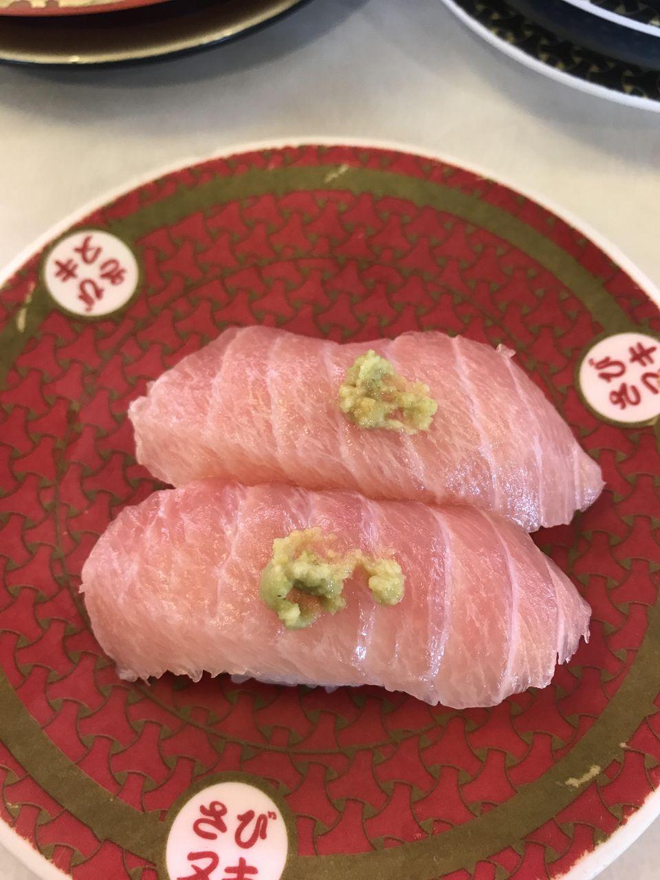 【画像】はま寿司のはらみ(90円)が完全に大トロな件