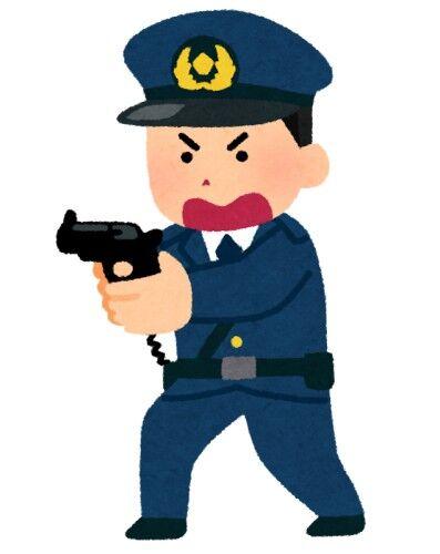 不法侵入の男、50cmの刃物を持って警官に向かう 警告されても向かっため発砲、腹部に被弾