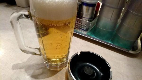 【速報】ワイ、餃子にビールとかいう至福の一時を堪能 【画像あり】