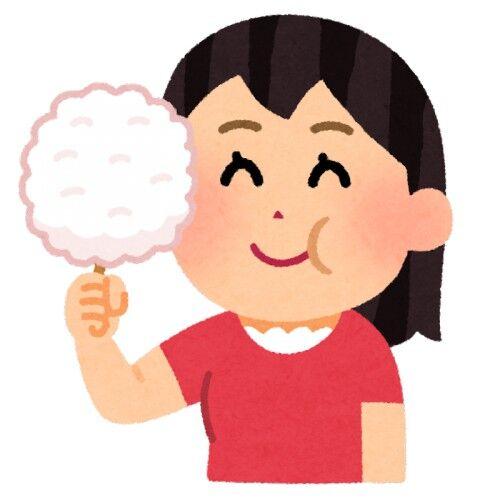 お祭りとかでよく販売しているお菓子の綿飴(わたあめ)って、英語で何て言うか知ってる?