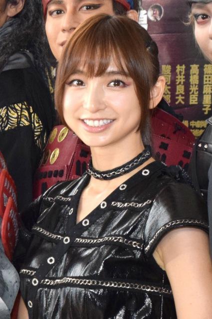 篠田麻里子、初の立ち回りに苦戦「ダンスっぽくなっちゃう」