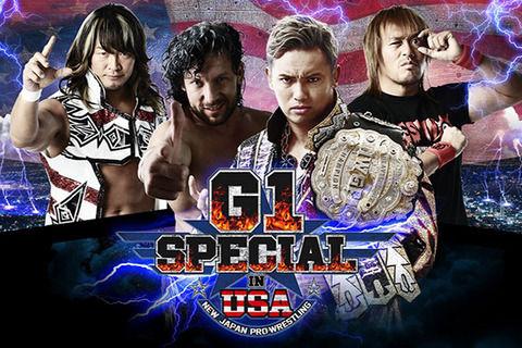 新日本プロレス『G1 Special in USA』参戦選手が発表 4大タイトル戦、USヘビー級王座決定トーナメントも正式決定
