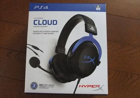 HyperXのPS4向けゲーミングヘッドセット「HyperX Cloud Gaming Headset for PS4」レビュー