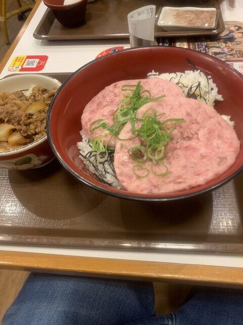 【画像】すき家の牛丼を「2倍」楽しむ法ww