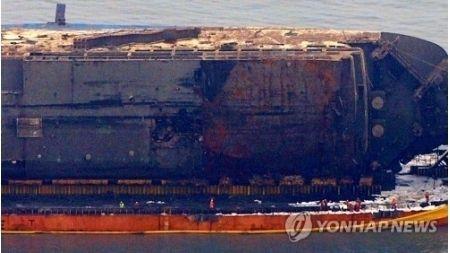 【韓国】セウォル号引き揚げ現場で遺体発見 行方不明者か これはしんどいな