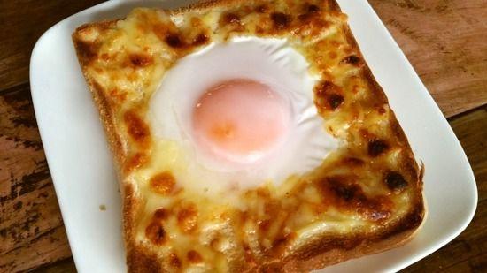 食パンに生卵乗せてオーブントーストするやつさ、絶対生のままになるよな