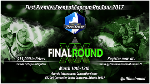 【ストV】3月10日~12日開催の『Final Round XX』が2017年シーズン最初のCPTプレミア大会に決定、5月26日~28日の『Combo Breaker』もプレミア大会に