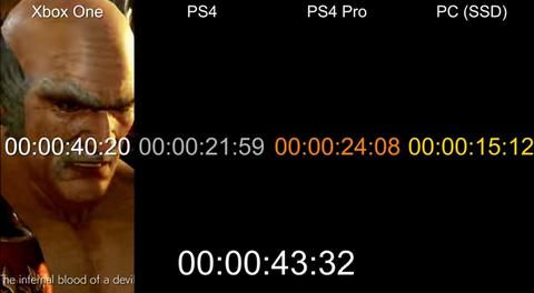 【鉄拳7】PS4 Pro、PS4、Xbox Oneの比較動画。解像度はPS4 Pro=1920x1080、PS4=1536x864、Xbox One=1280x720でXbox One版は完全に劣化版である事が明らかに