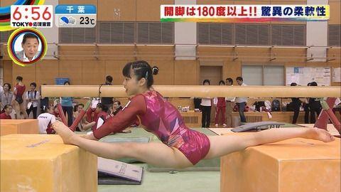 世界体操女子選手の応援はこの子に決めたぞ(画像)