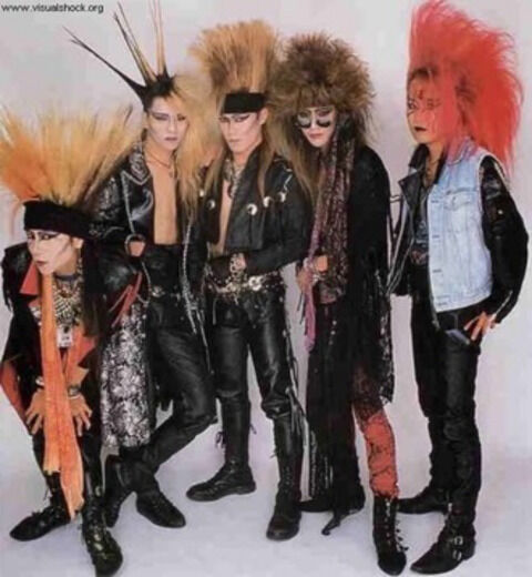 昔の X JAPAN ワロタwwwwww(画像)