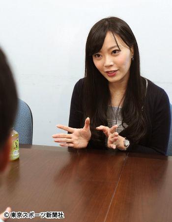 愛媛朝日テレビに入社した松本圭世