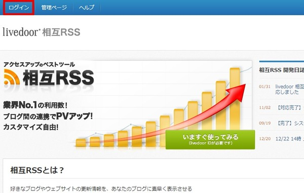 livedoor-rss-rogin