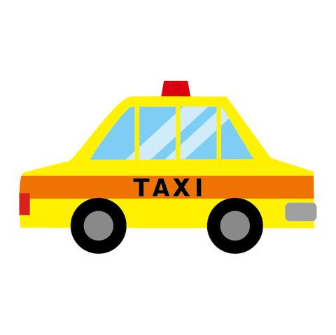 タクシーイラスト画像_1