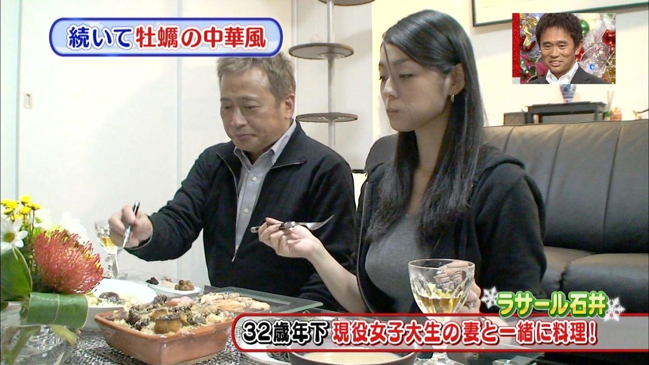 ラサール石井(58)の妻・桃圭(26)、夫が死んだらどうするとの問いに「後を追ってすぐ死ぬ」と即答