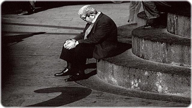 寂しい男性