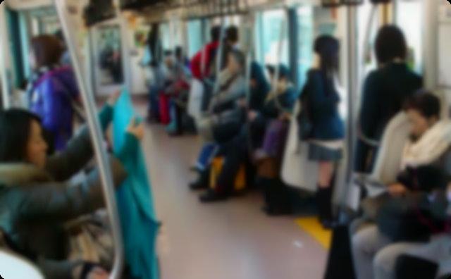 電車内の会話