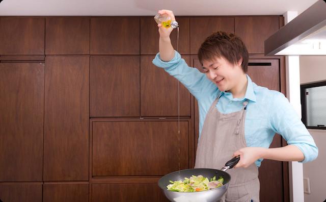 父の手料理