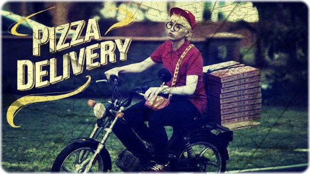 宅配ピザ屋