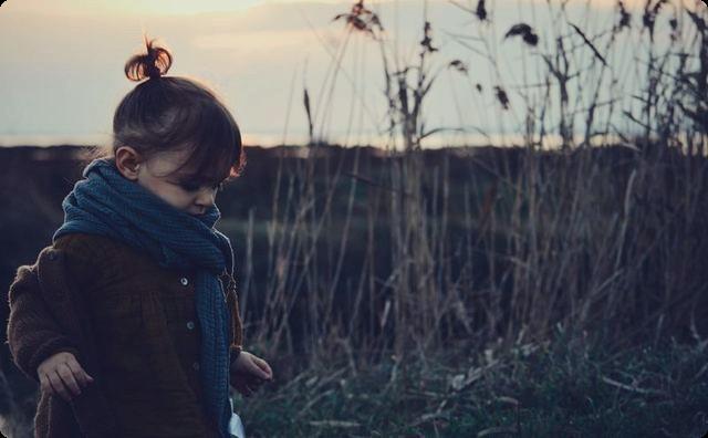 草原の少女