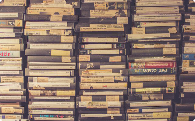 ビデオテープ
