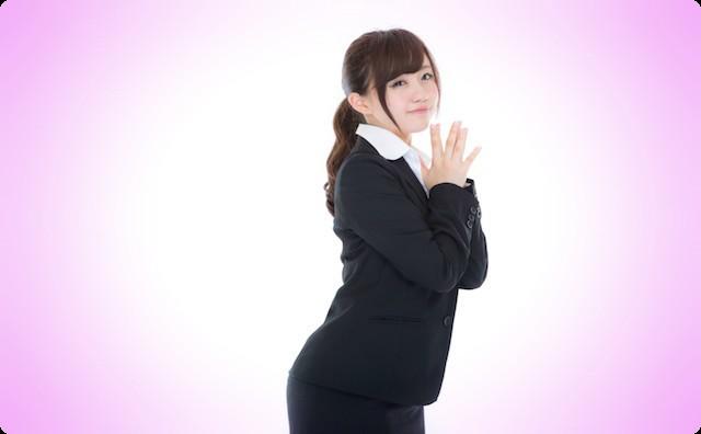 会社の女の子