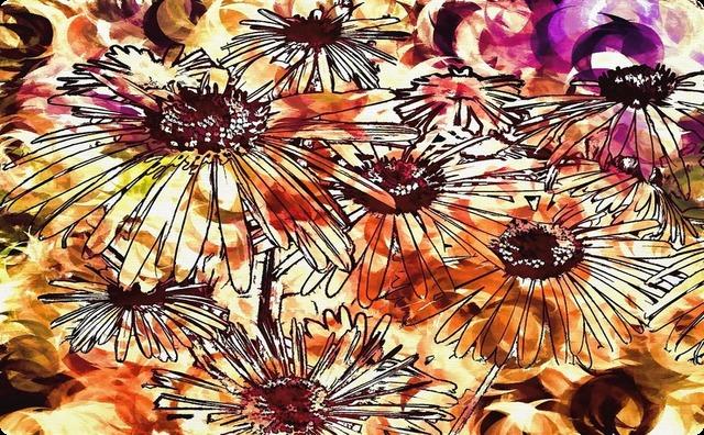 朽ちゆく花