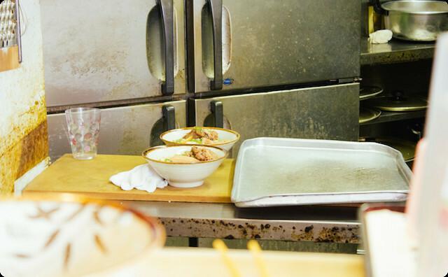 食堂の厨房