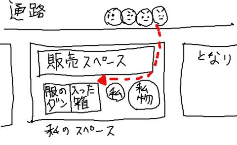 【販売スペース】