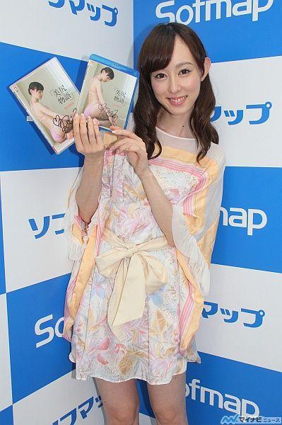 秋山莉奈、DVD『美尻物語』をPR