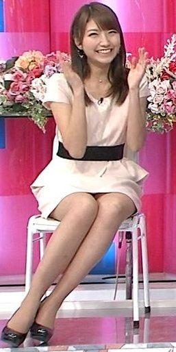三田友梨佳 太もも3