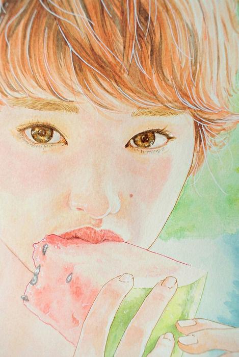 韓国人が描いた剛力彩芽7