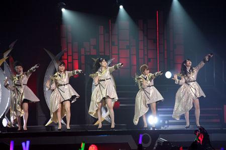 ℃-uteの初武道館公演に森高千里がサプライズ登場9