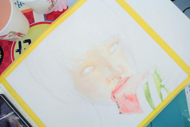 韓国人が描いた剛力彩芽2