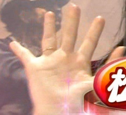 松井玲奈指輪をはめてShibuya Deep A出演
