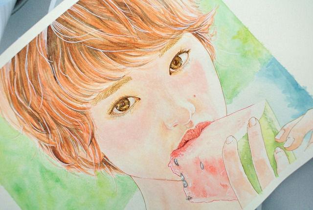 韓国人が描いた剛力彩芽8