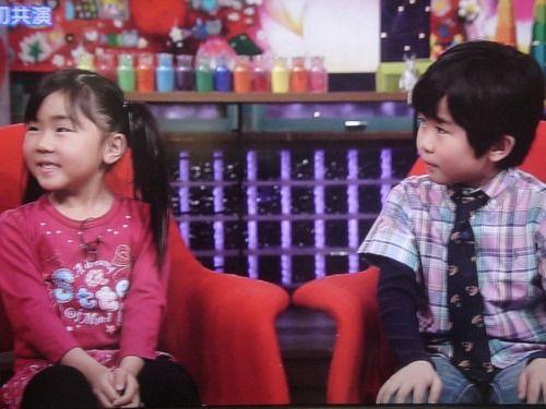 鈴木福と妹の鈴木夢