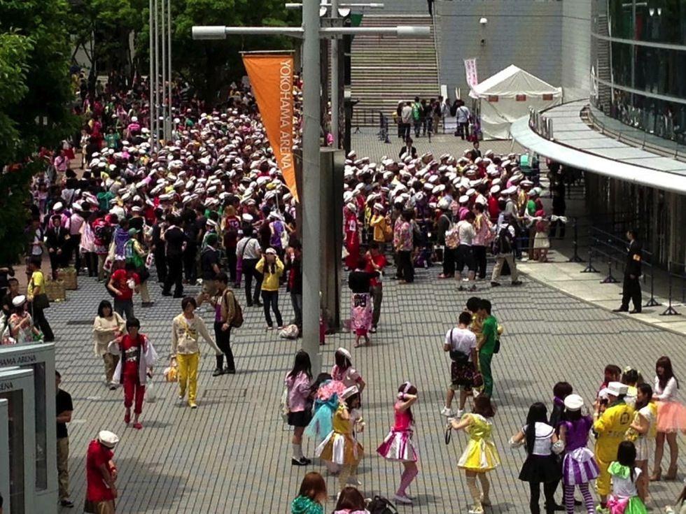 Momoiro clover z official funclub event 004