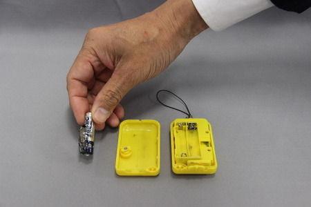 【日本】防犯ブザーが爆発 中国製「Vinnic」の乾電池