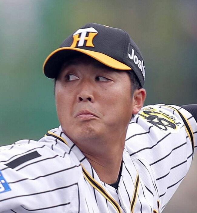阪神14年ドラ1で育成の横山雄哉(26)「今年の目標は3勝」