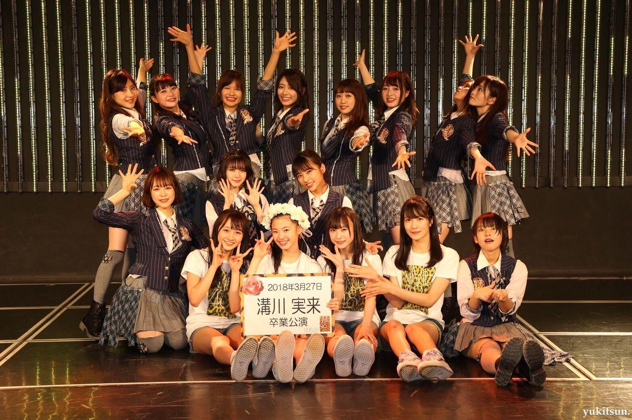 NMB48 溝川実来卒業公演。メンバーのSNSなど