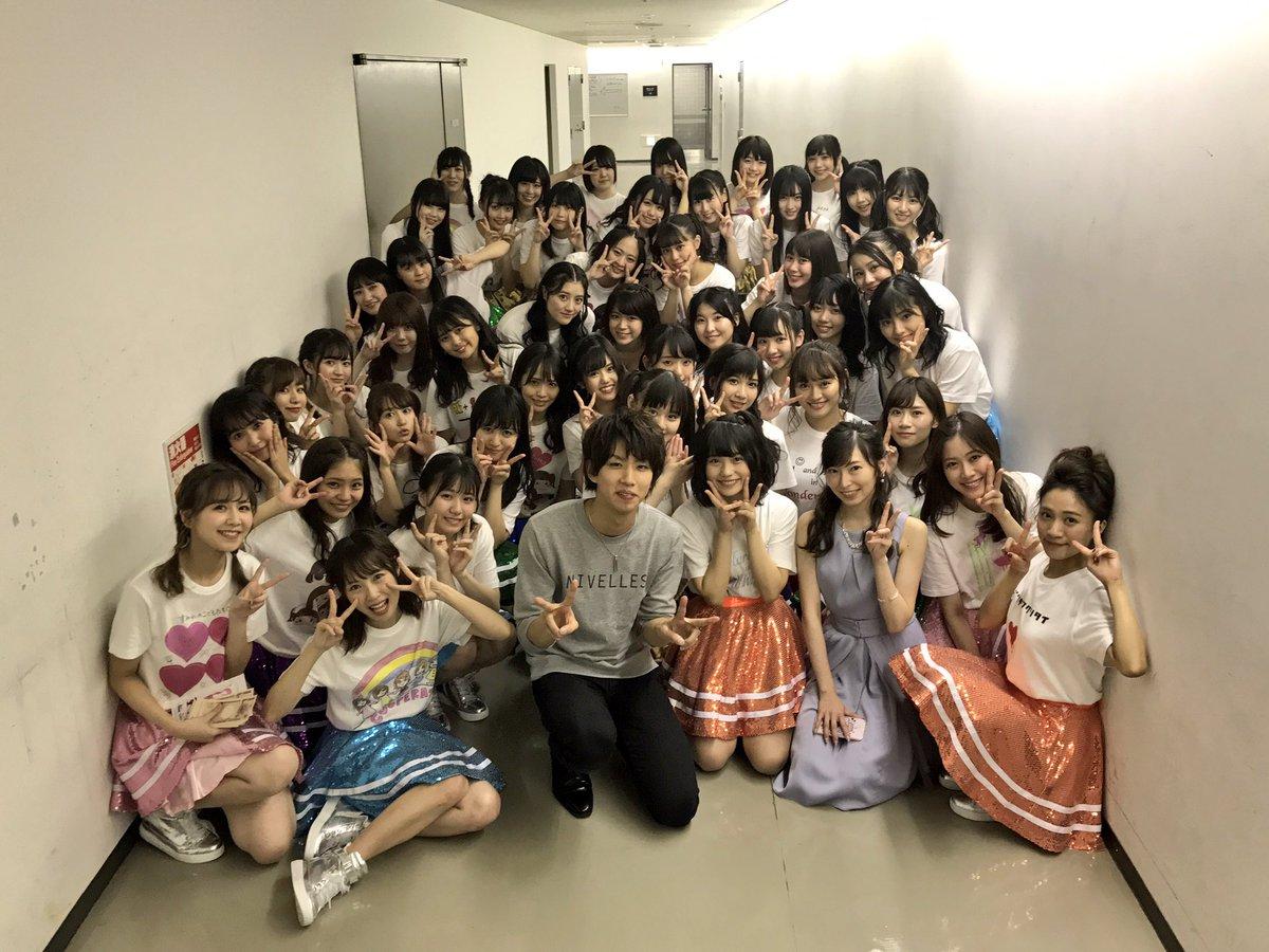 【SKE48ユニット対抗戦】はじめしゃちょーとSKE48の集合写真wwwwwwwwwwwwwwww