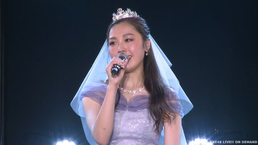 【速報】SKE48 石田安奈 卒業公演でホリプロ所属を発表!