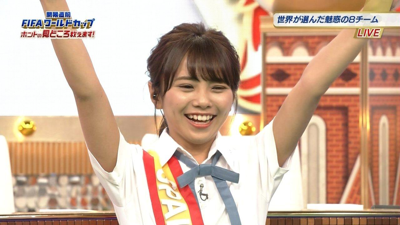 【NMB48】磯佳奈江、NHKのW杯直前特番に出演!実況まとめ