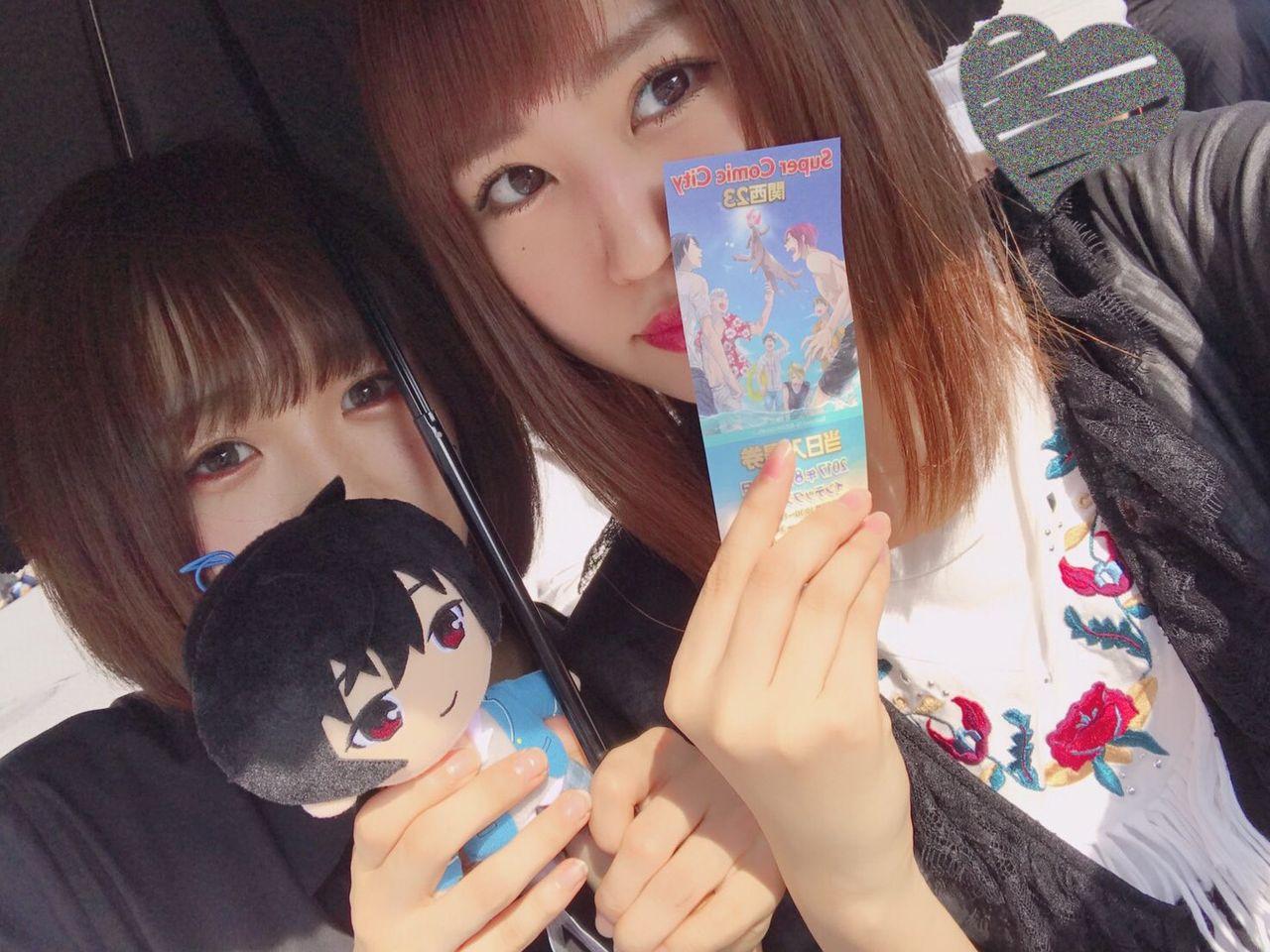 【朗報】NMB48メンバー、コミケへ行く。【古賀成美・三田麻央】
