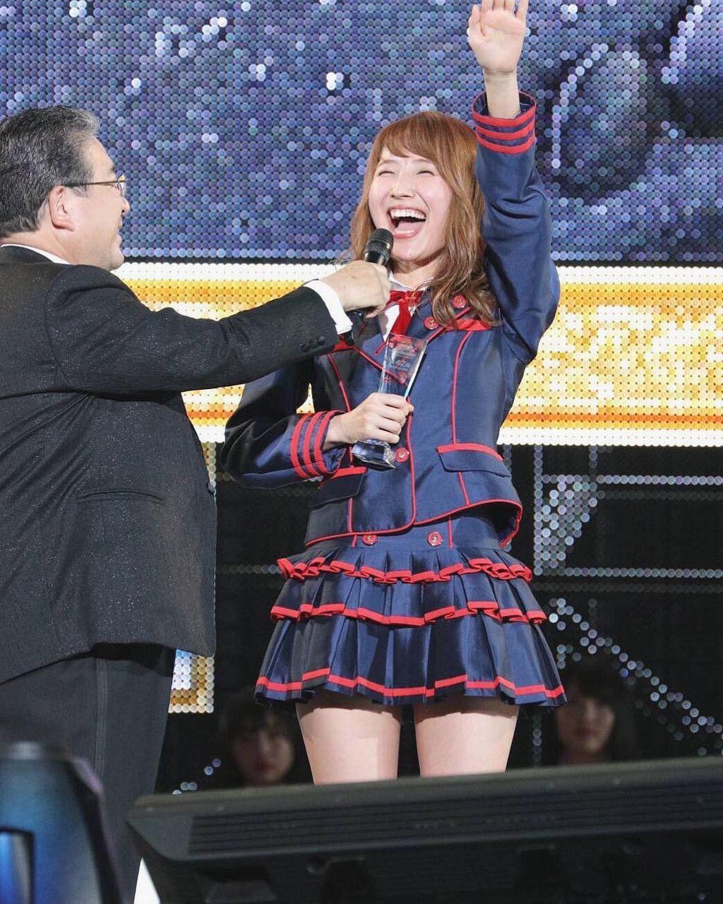 【AKB48選抜総選挙】SKE48内山命、10度目で初のランクイン!